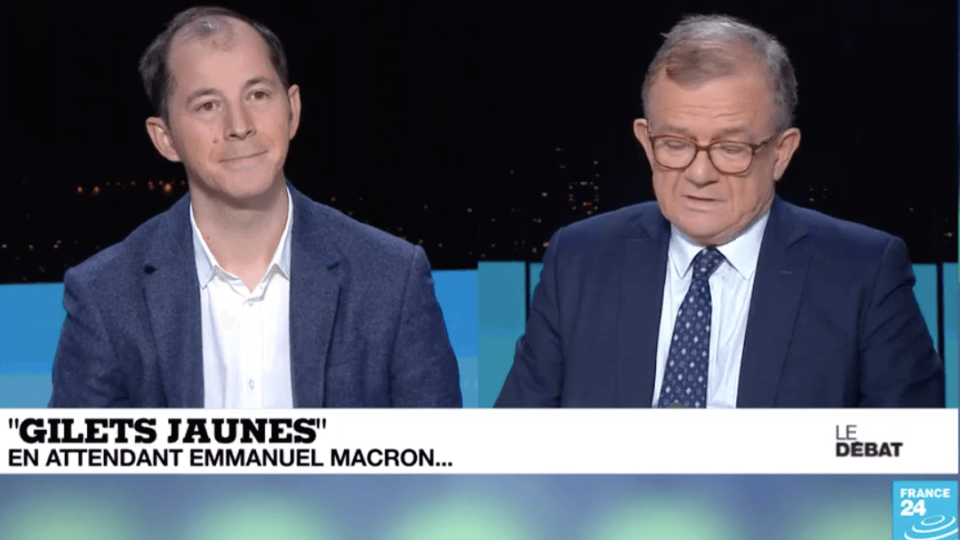Gilets jaunes : Délits d'Opinion sur France 24