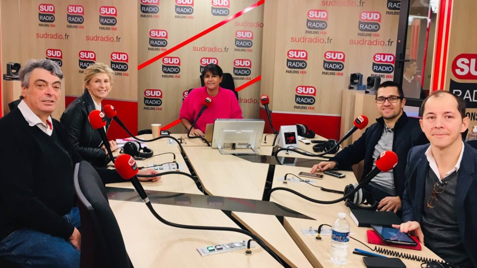Grand débat : Délits d'Opinion sur sud Radio